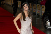Louise Michelle arrives for the 'Run For Your Wife' film premiere in London.