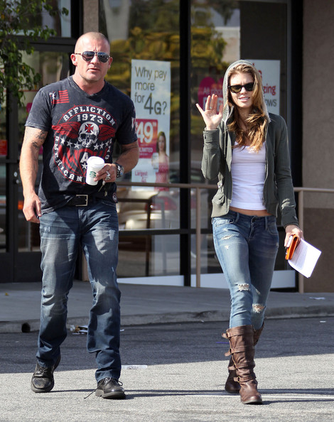 Dominic Purcell And Annalynne Mccord AnnaLynne McCord in Do...