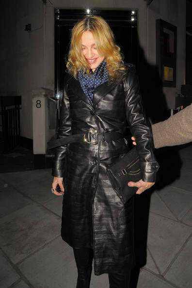 Madonna and Brahim Rachiki Dine with Friends in London