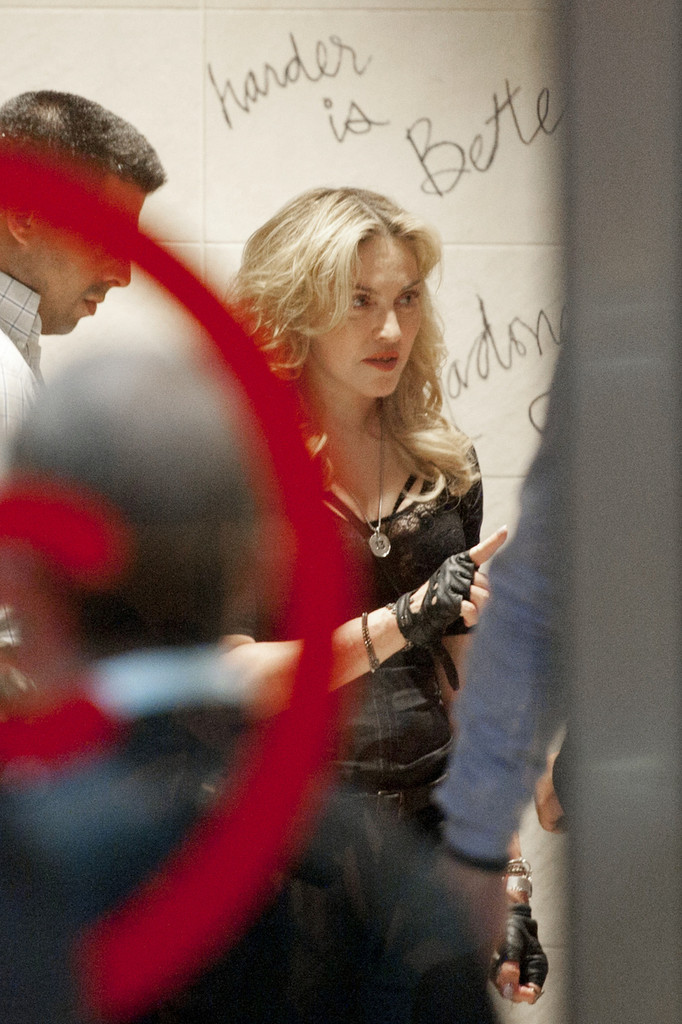 madonna photos photos madonna and her trainer visit the hard candy fitness club zimbio. Black Bedroom Furniture Sets. Home Design Ideas