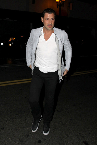 Maksim Chmerkovskiy Out in Hollywood