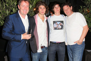Marco Pierre White Marco Pierre White and Piers Morgan in Kensington
