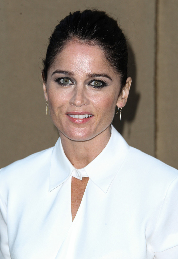 Los Angeles, CA - Robin Tunney at the CW, CBS and Showtime