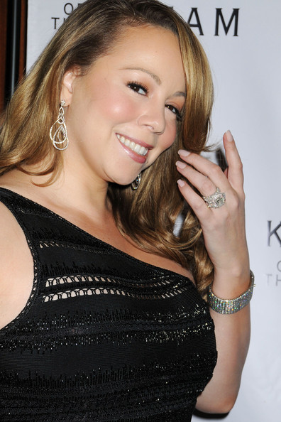 Mariah Carey Mariah Carey drips in diamonds at the 12th Annual Keepers Of the Dream Awards at the Sheraton New York Hotel & Towers in New York City.