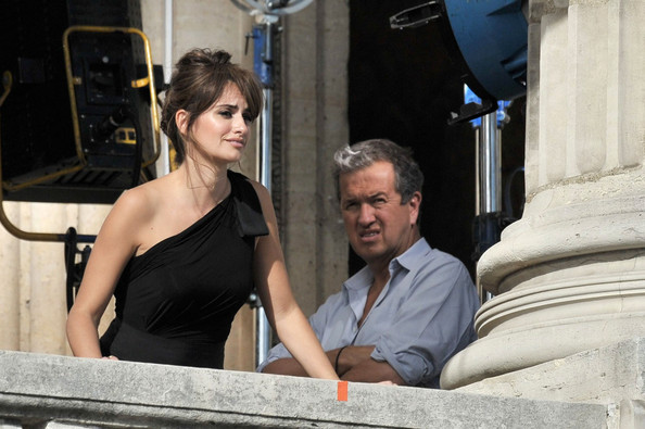 Mario Testino and Penelope Cruz - Penelope Cruz at a Lancome Photo Shoot