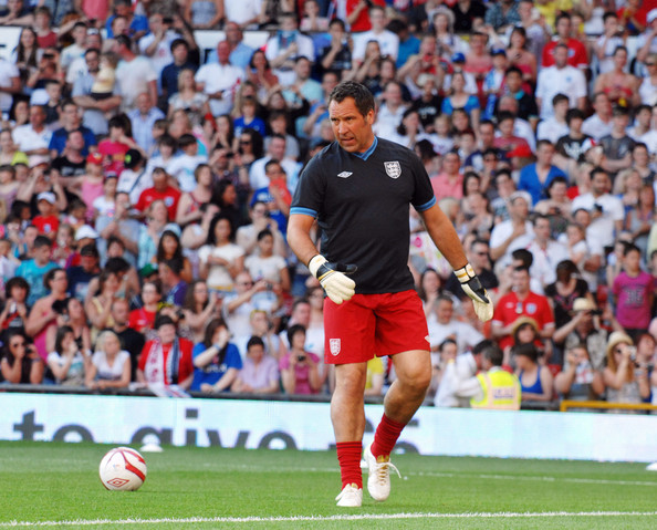 Seaman seen playing at the celebrity UNICEF Soccer Aid Football match ...