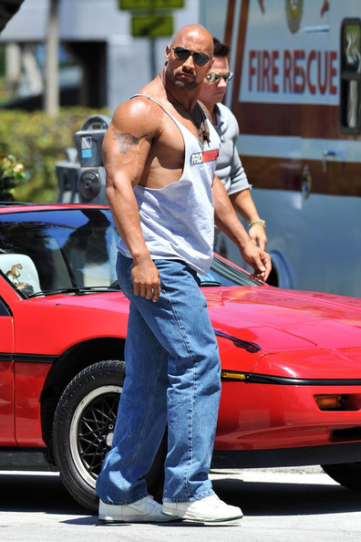 The Rock Muscle Gain
