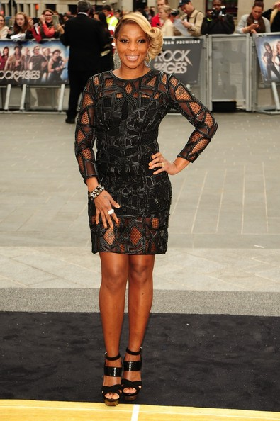 Mary J. Blige - Celebs at the London Premiere of 'Rock of Ages'