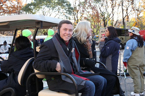 Scotty+McCreery in Mary J. Blinge at the Macy's Thanksgiving Day Parade New York City