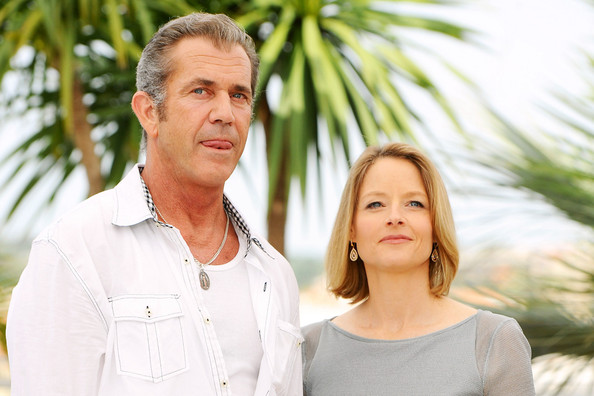 mel gibson cannes. Mel Gibson and Jodie Foster