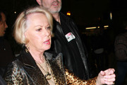 """Melanie Griffith (not pictured) accompanies mom Tippi Hedren to the CNN Building in Los Angeles. Hedren, most famous for appearing in Alfred Hitchcock's classic thriller """"The Birds"""", had just appeared on """"Larry King Live""""."""
