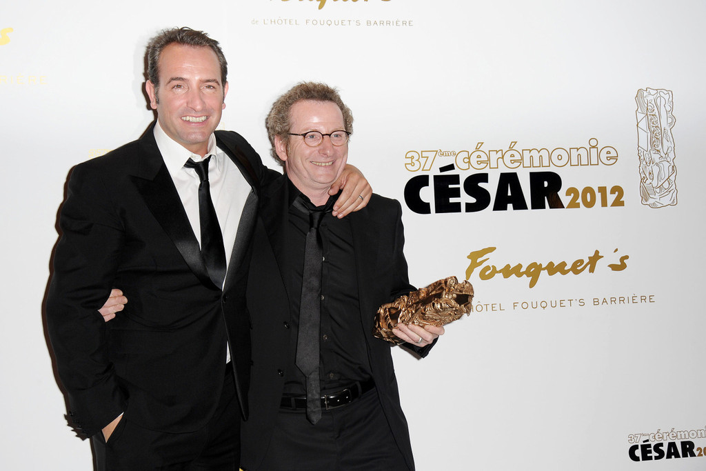 Jean dujardin photos photos stars at the cesar awards for Dujardin thierry