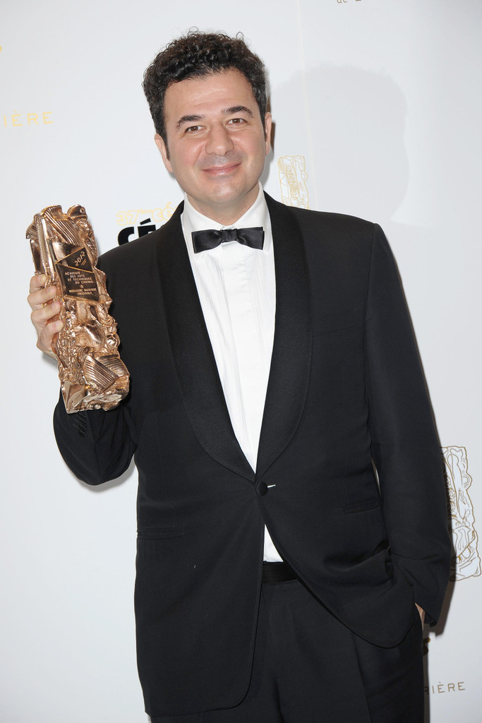Ludovic bource in stars at the cesar awards zimbio for Dujardin thierry