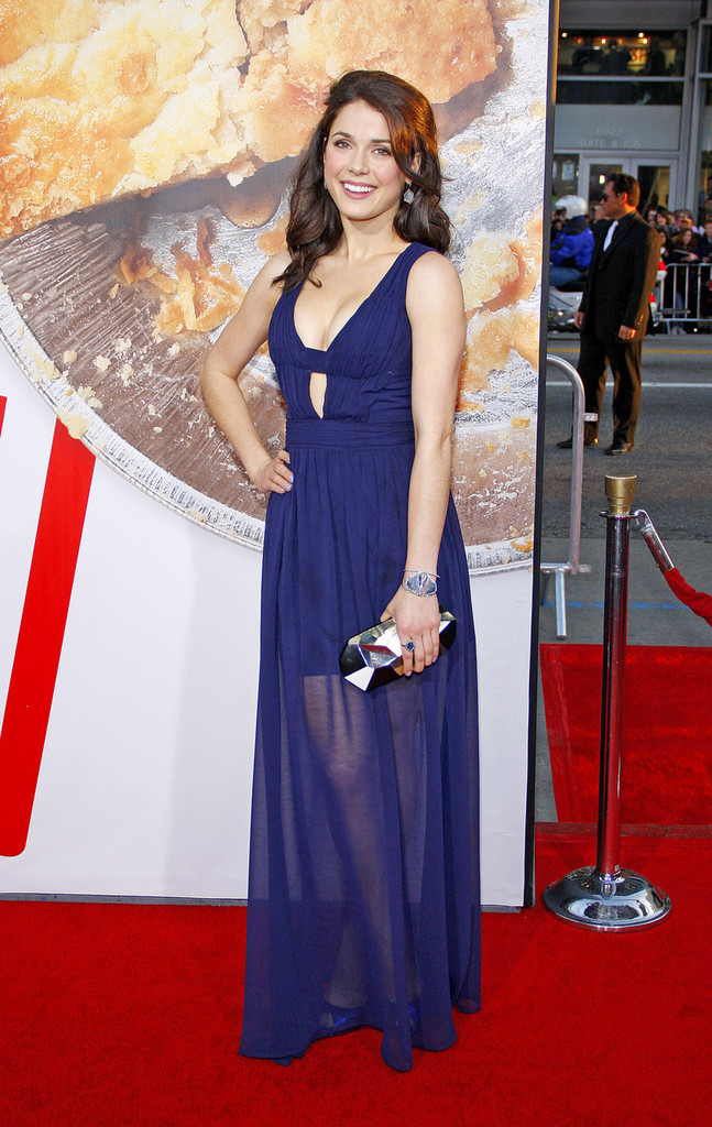 ali cobrin photos photos celebs at the american reunion premiere zimbio. Black Bedroom Furniture Sets. Home Design Ideas