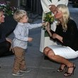 Mette-Marit Mette-Marit, Crown Princess of Norway attends church service at the Norwegian Seamen's Church of New York