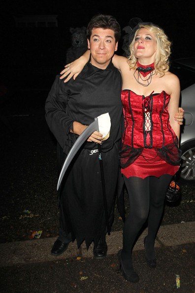 Celebrities at a Halloween Party
