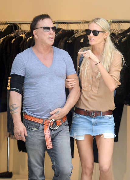 Mickey Rourke Mickey Rourke Photos Mickey Rourke And His Girlfriend In New York Zimbio She played the role of a russian model in the bruce willis film a good day to die hard. mickey rourke mickey rourke photos