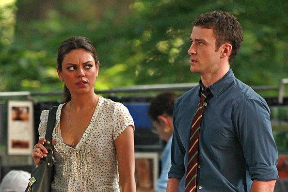 """Mila Kunis and Justin Timberlake Film """"Friends with Benefits"""" 2"""