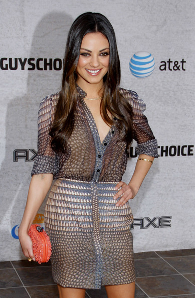 "Mila Kunis Actress Mila Kunis at the Spike TV's 5th Annual 2011 ""Guys Choice"" Awards held at the Sony Pictures Studios, Los Angeles."