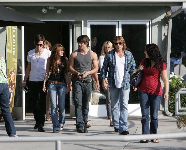 Miley Cyrus FILE PHOTO dated Saturday September 13 2008. Billy Ray Cyrus and wife Leticia Cyrus have reportedly filed for divorce after 17 years of marriage. **ORIGINAL CAPTION** A smiling