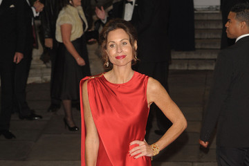 Minnie Driver Helen McCrory arrives for Royal World Premiere of 'Skyfall' held at London's Royal Albert Hall