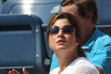 Mirka Federer Mirka Federer at the US Open, the fourth and last tennis Grand Slam of the season, in New York