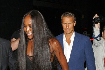 Naomi Campbell Vladislav Doronin Adam Gouraguine and Emeli Sande seen attending the Fashion for Relief Charity Dinner hosted by model Naomi Campbell at Downtown Mayfair, London