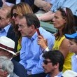 Nathalie Marquay Celebs Watch the French Open in Paris