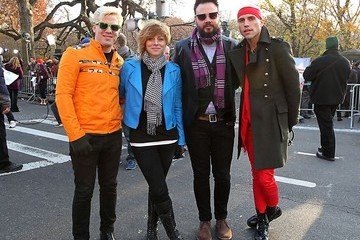 Neon Trees Carly Rae Jepsen Attends the Macy's Annual Thanksgiving Day Parade in New York City