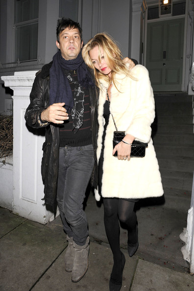 Kate Moss and Jamie Hince in Notting Hill