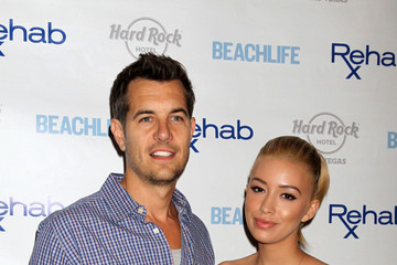 Nick Hexum Christian Serratos at the Hard Rock Hotel