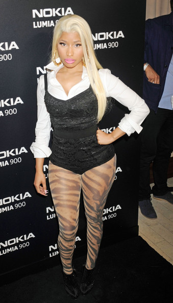 Nicki Minaj - Celebs at the Lumia 900 Launch