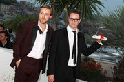 "Nicolas Winding Refn wins the best director prize for his new film ""Drive"", starring Ryan Gosling, during the closing ceremony of the 64th Cannes Film Festival, held at the Palais des Festivals on the Croisette avenue in Cannes."