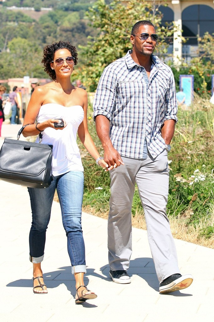 Michael strahan and nicole murphy kids