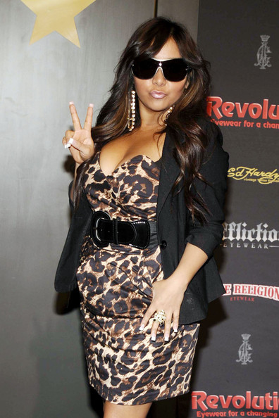 Nicole Polizzi - Nicole 'Snooki' Polizzi makes an appearance for Revolution Eyewear at Vision Expo East held inside the Jacob Javits Convention Center in New York.