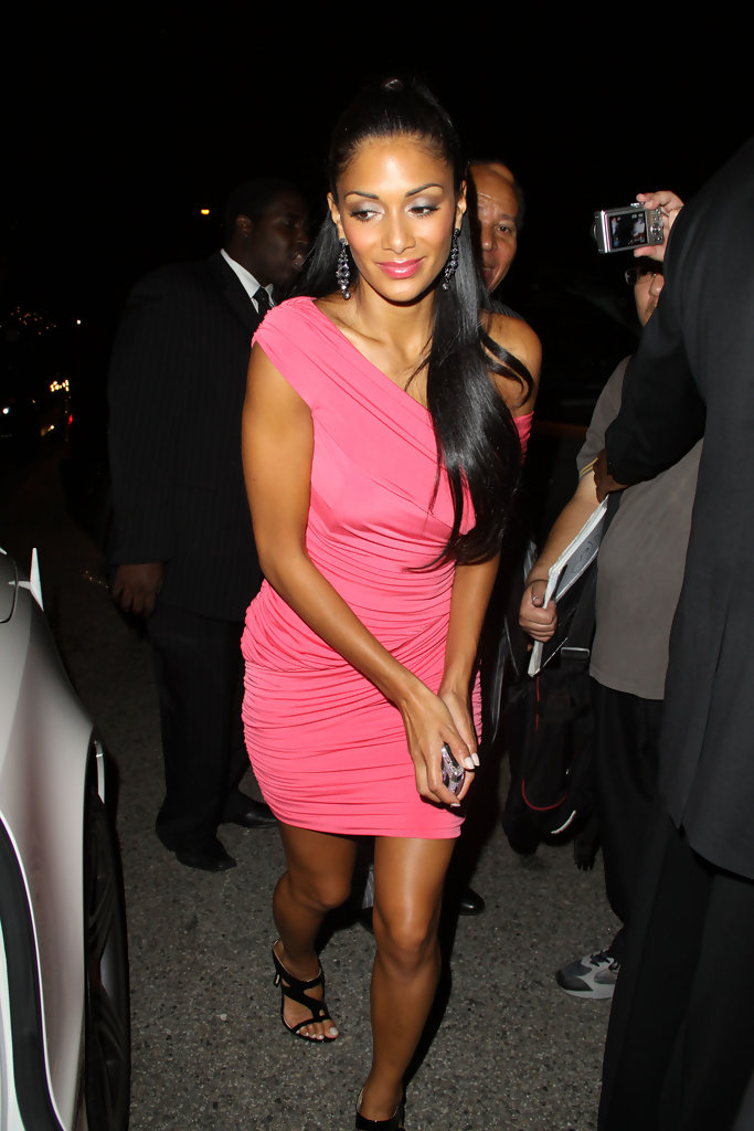 Nicole scherzinger leaves a pre emmy party in west hollywood zimbio