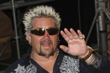 Guy Fieri Celebs at the 'Cars 2' Premiere