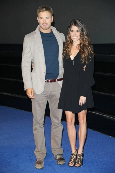 """Nikki Reed - Nikki Reed and Kellan Lutz participate in a Q&A session for """"Breaking Dawn Part 2"""" at the Vue in London"""