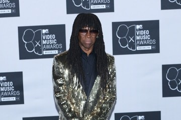 Nile Rogers Press Room at the MTV Video Music Awards