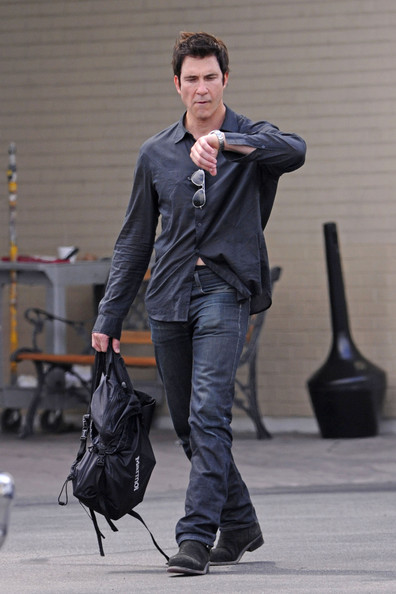 dylan mcdermott in celebs on set of quotthe perks of being a