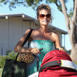 Eloise Denise Richards Takes Her Girls to the Park in LA