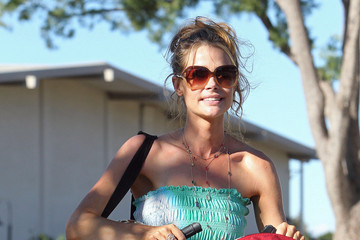 Lola Denise Richards Takes Her Girls to the Park in LA