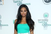 Nana Meriwether attends the 14th Annual BNP Paribas Taste Of Tennis at W New York Hotel in New York City.