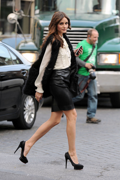 Olivia Palermo - Olivia Palermo in the Meatpacking District