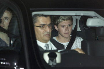 One Direction Daniel Bruhl Leaves the Lady Gaga Concert