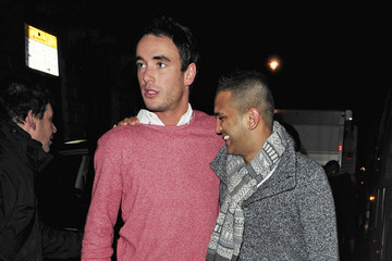 Jack Tweed Mark Wright Out in London