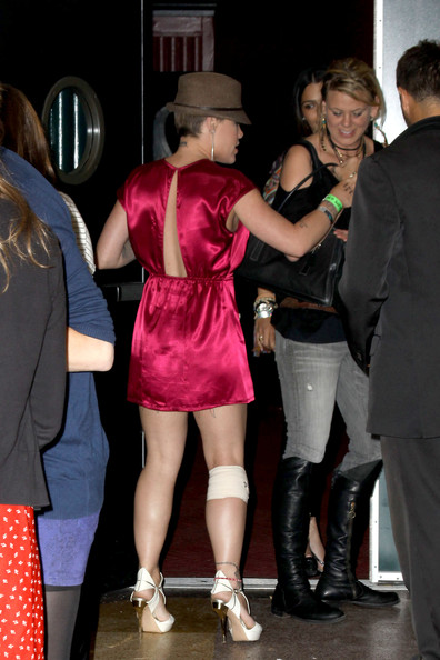 Pink Has P!nk had a new tattoo? The punky singer was spotted outside