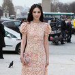 Pace Wu Pei Ci Arrivals at the Valentino Fashion Show