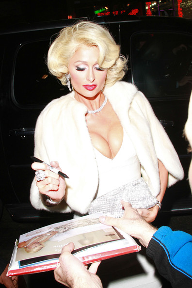 Paris hilton launches 39 tease 39 3 zimbio - Hotel maryline monroe paris ...