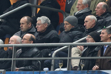 Patrice Lagisquet Politicians Attend the 2014 World Cup Qualifier Match